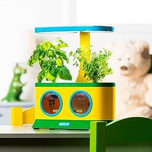 AeroGarden Herbie Kid's Garden with Pizza Party Activity Kit