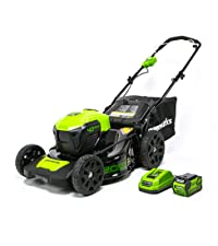 Amazon.com : Greenworks 14-Inch 40V Cordless Lawn Mower, 4.0 ...