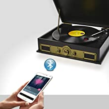 MB-USBTR98 WIRELESS MUSIC STREAMING RECORD PLAYER
