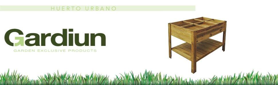 Gardiun KSU13040 - Huerto Urbano 120x80x88 cm: Amazon.es: Jardín