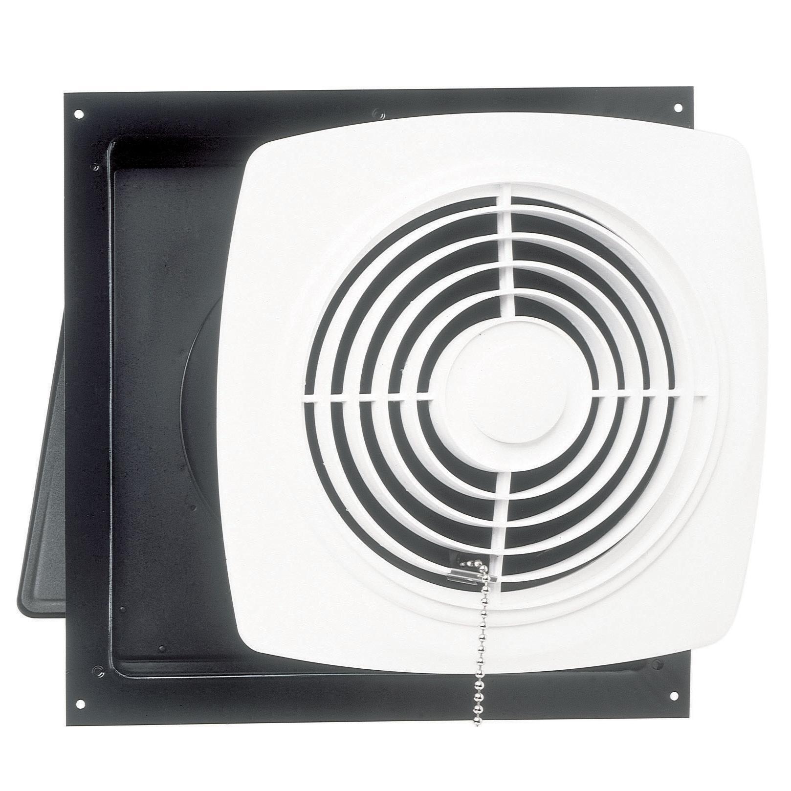 Broan 506 Chain Operated Utility Fan, 10-Inch 470 CFM 8.0 Sones ...