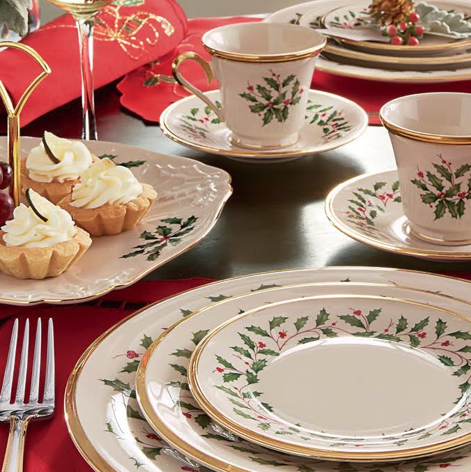 Lenox Holiday Lenox Holiday Collection Lennox Lenox Holiday Dinnerware Lennox Holiday & Amazon.com: Lenox Holiday 5-Piece Place Setting Ivory: Dinnerware ...