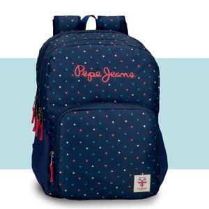 mochila escolar portatil Pepe Jeans
