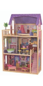 KidKraft Kayla Dollhouse, KidKraft Wooden Dollhouse, KidKraft Dolls House