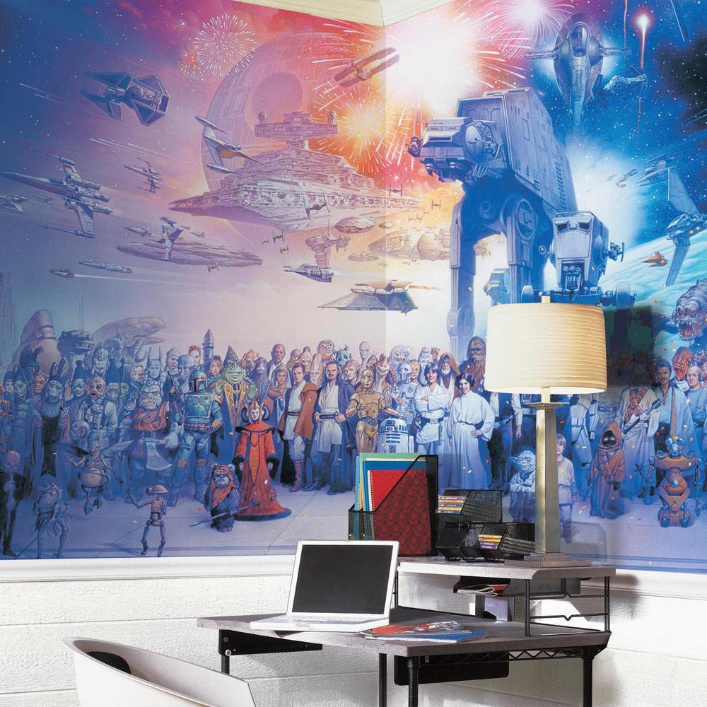 Roommates jl1230m star wars saga prepasted for Amazon wall mural