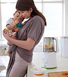 Philips Avent SCF870/20 2-in-1 Babynahrungszubereiter