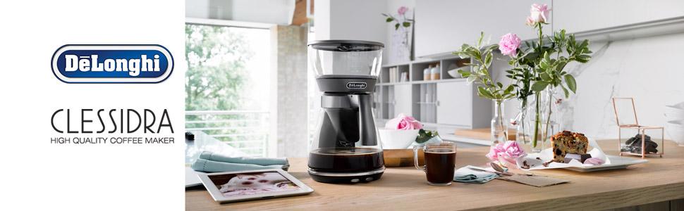 DeLonghi Clessidra; Drip Coffee Machine; ICM17210