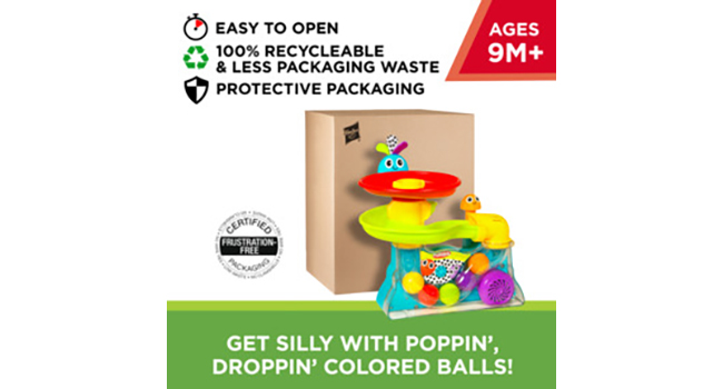 Easy-Peasy, Frustration-Free, Recyclable Packaging