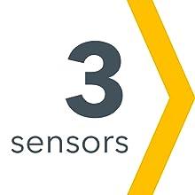 3 sensors.