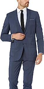 Slim fit suit, wool suit