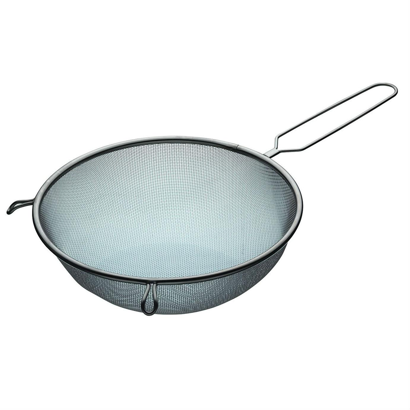 KitchenCraft Extra-Large Stainless Steel Sieve, 25 cm (10\