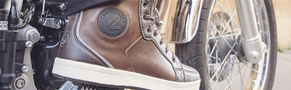 V Quattro Design Twin Chaussures Homme Marron Taille 42EU-8US