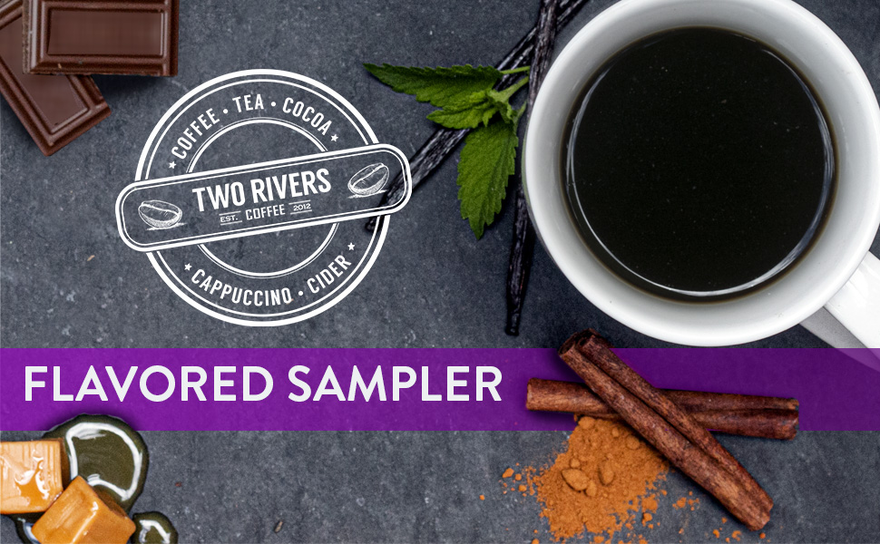 Flavored Sampler Coffee Pods