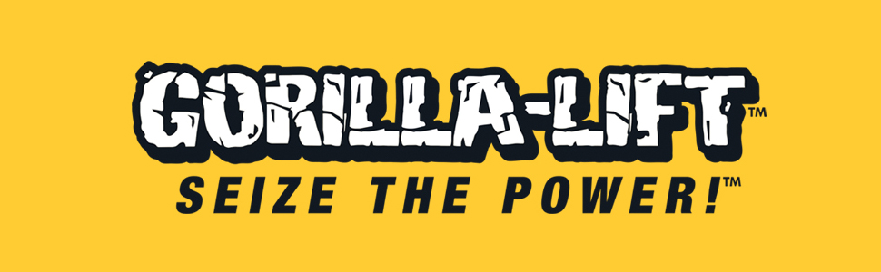 Gorilla-Lift Tailgate Lift Assist Seize the Power Banner