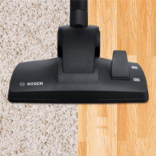 2 Way Silent Carpet/Hard Floor Brush