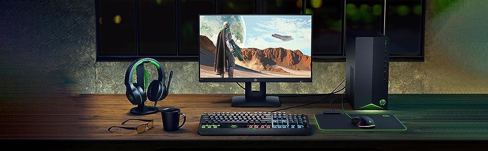 HP Pavilion Gaming 7VM52EA - Ordenador de sobremesa (Intel Core i5-9400, 16 GB RAM, 512 GB SSD + HDD de 1 TB, Intel UHD Graphics 630, Sin Sistema ...