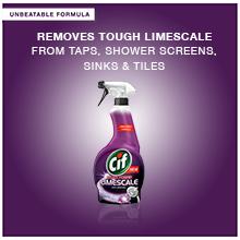 cif limescale spray tough dirt removal bathroom cleaner