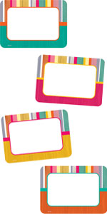 Tropical Punch Name Tags/Labels