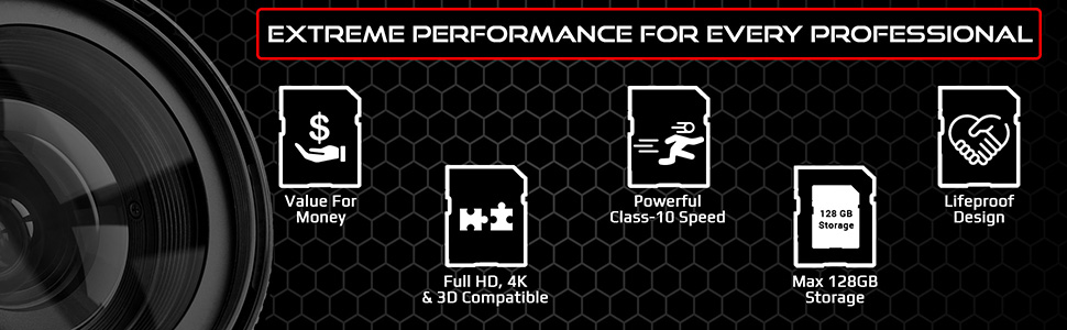 Ritz Gear SD CARD Extreme Performance for every professional