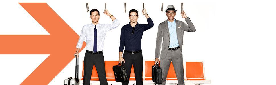 van heusen traveler collection, easy care pants shirts for men, comfortable shirts pants for men