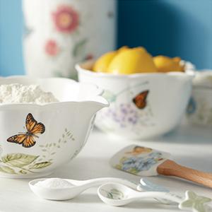 Amazon.com | Lenox 6342794 Butterfly Meadow 18-Piece