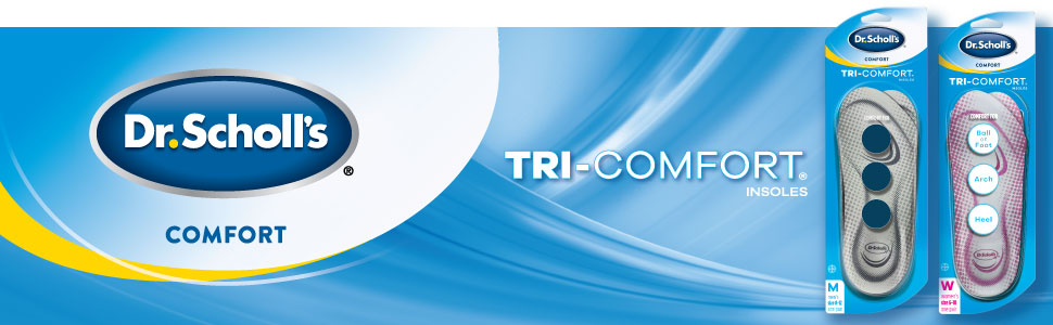 Dr. Scholl's Tri-Comfort Insoles