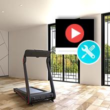 Sportetch treadmill f17 video