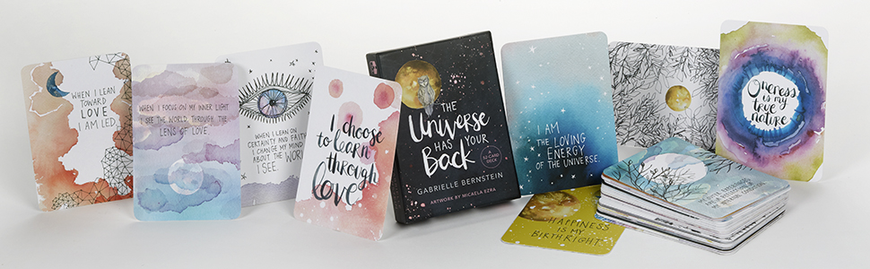 The universe has your back a 52 card deck gabrielle bernstein 52 inspiring messages to help you open up to the power of the universe m4hsunfo