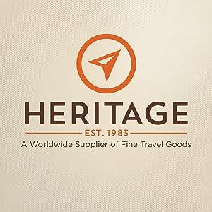 Heritage, Heritage Travelware, Heritage Brand, Travel Goods, Luggage, Briefcases, Bags
