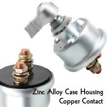 Zinc Alloy Case Housing Copper Contact