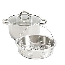 Oster cookware, steamer set, stove top steamer, dutch oven, steamer basket, stainless steel steamer