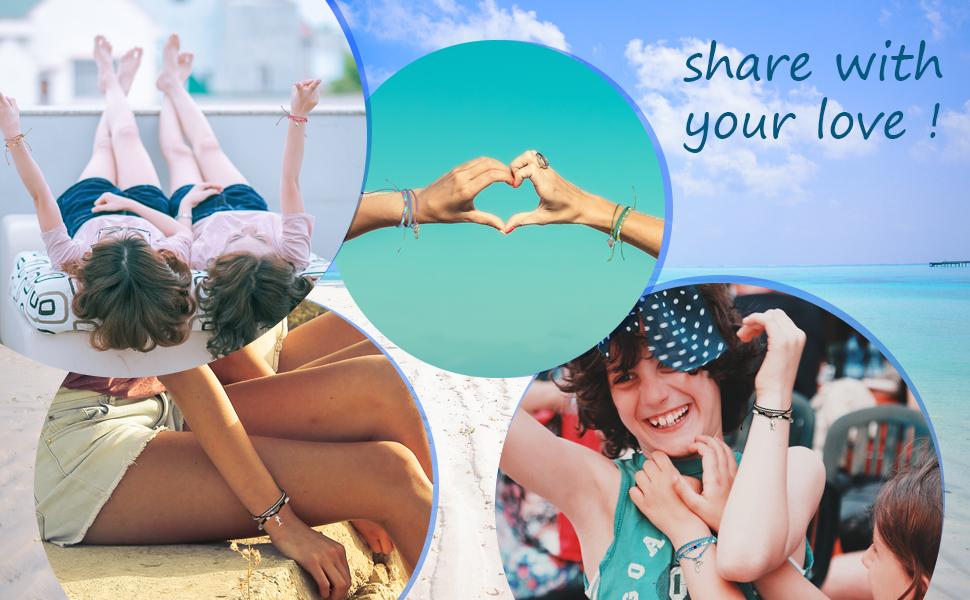 Kids Friendship Bracelets for Girls