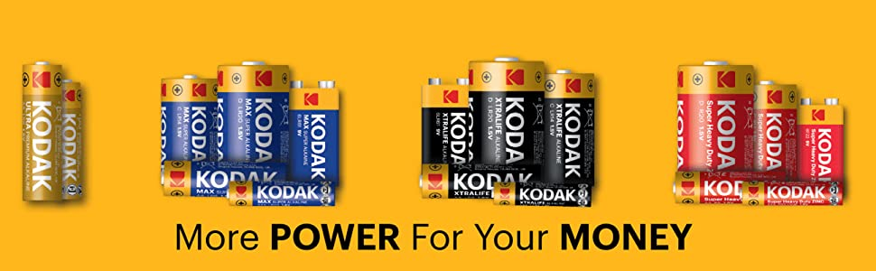 Kodak Batteries