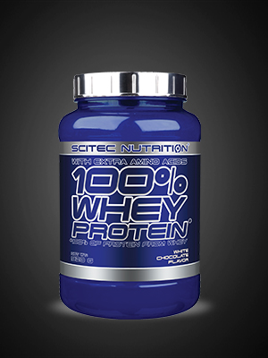 Scitec Nutrition 100% Whey Protein con aminoácidos adicionales, 920 g, Chocolate blanco