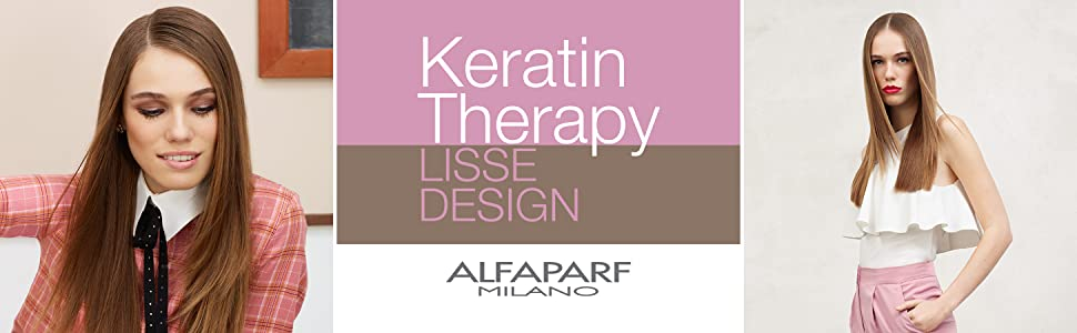 Alfaparf Milano Lisse Design Keratin Therapy Protecting Maintaining Keratina Treatment Straight Hair
