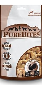 turkey; purebites; dog; treats
