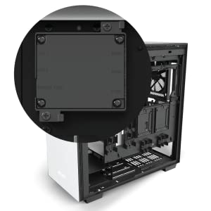 NZXT H710i - CA-H710 i-B1 - ATX Mid Tower PC Gaming Case - Front I/O USB Type-C Port - Quick-Release Tempered Glass Side Panel - Vertical GPU Mount - ...