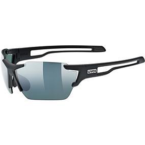 Uvex Sportbrille »Sportstyle 224 Sportglasses«, schwarz, schwarz