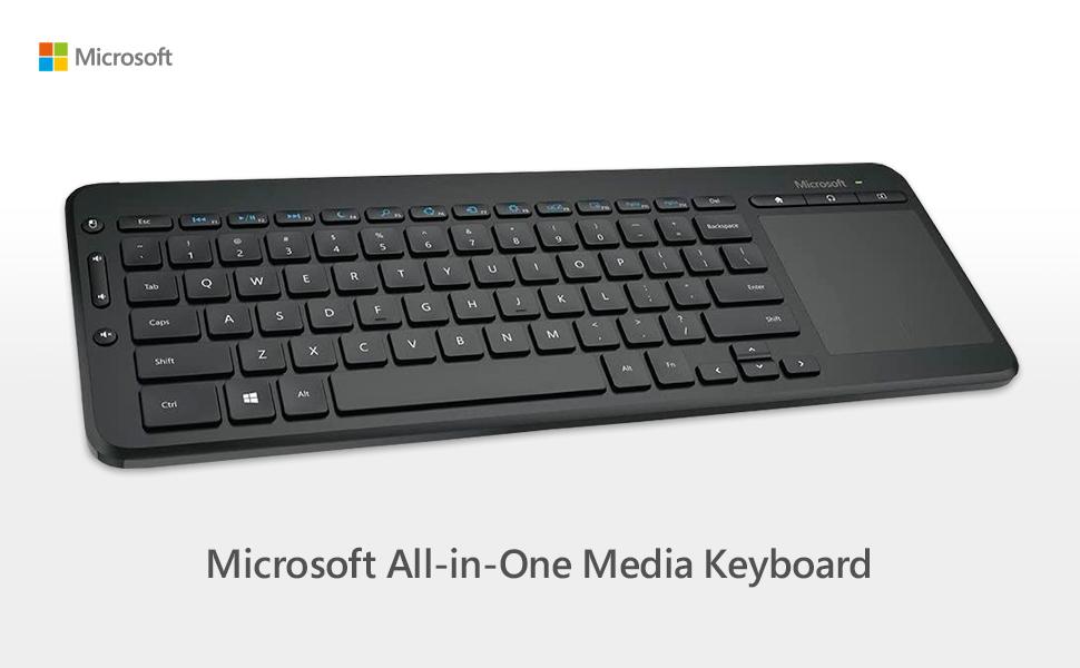 Microsoft – All-in-One Media Keyboard Español: Microsoft: Amazon.es: Informática