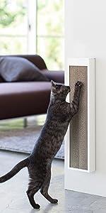 猫の爪とぎケース タワー ホワイト