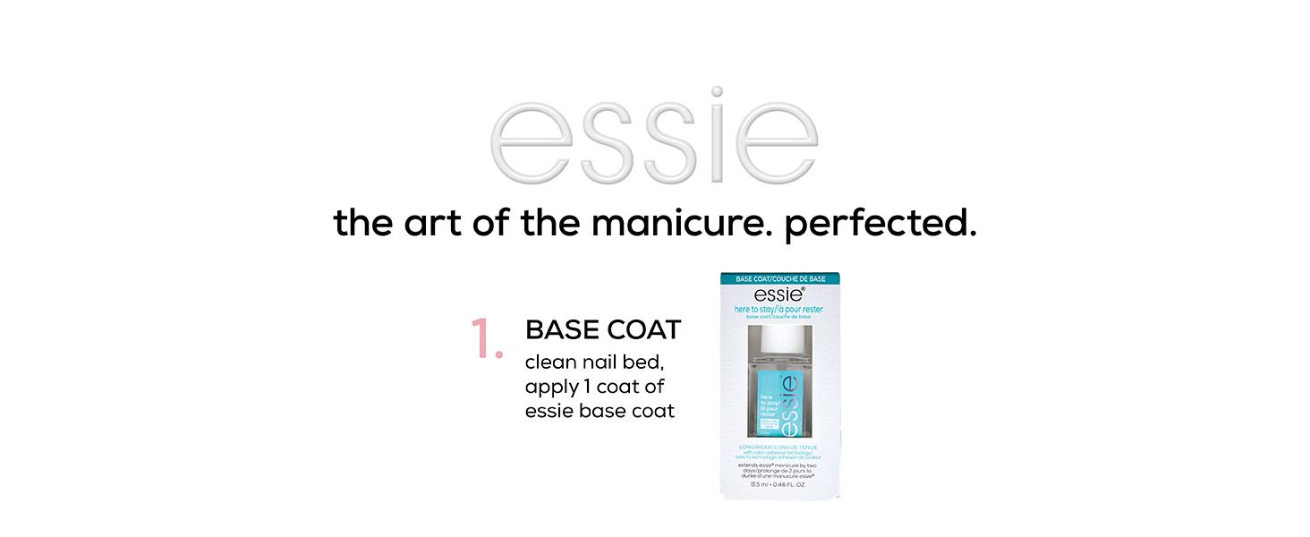 Essie step 1