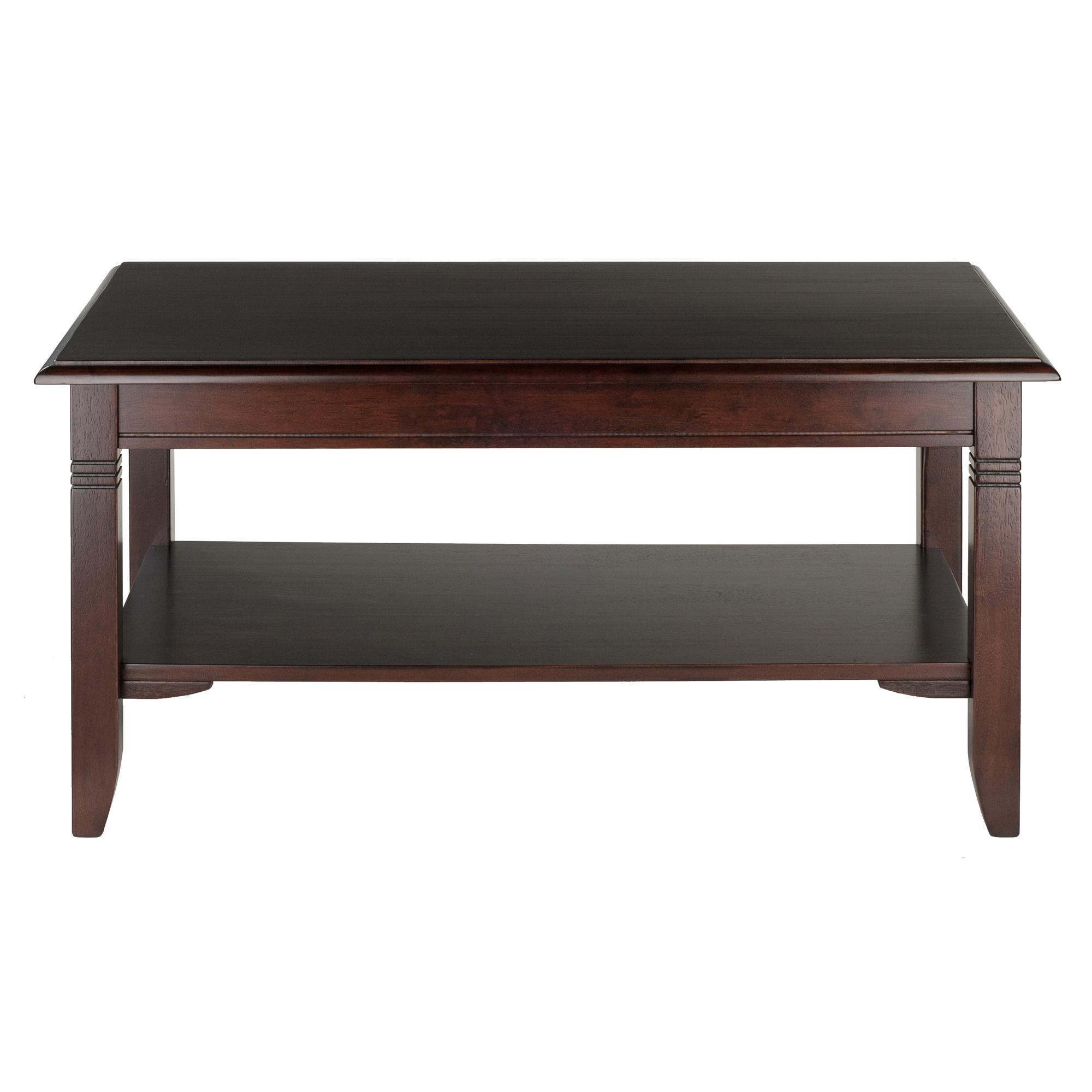 Winsome wood nolan coffee table kitchen dining for Coffee tables on amazon