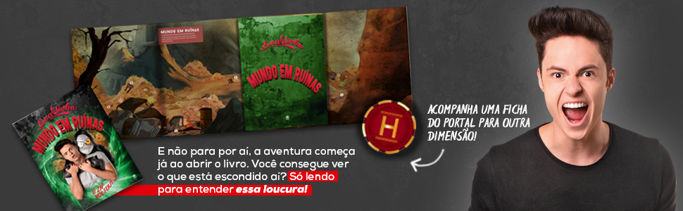 Enaldinho - Mundo Em Ruínas + Ficha Do Portal Pra Outra