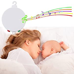 Baby mobile bed bell,music box for baby