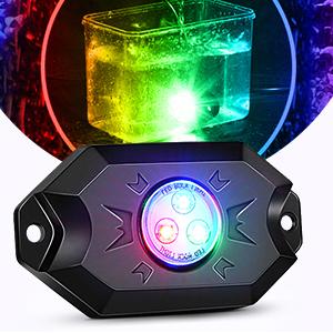 RGB rock lights RGB LED rock light bluetooth controller