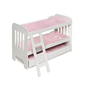 Amazon Badger Basket Doll Bunk Beds with Ladder fits