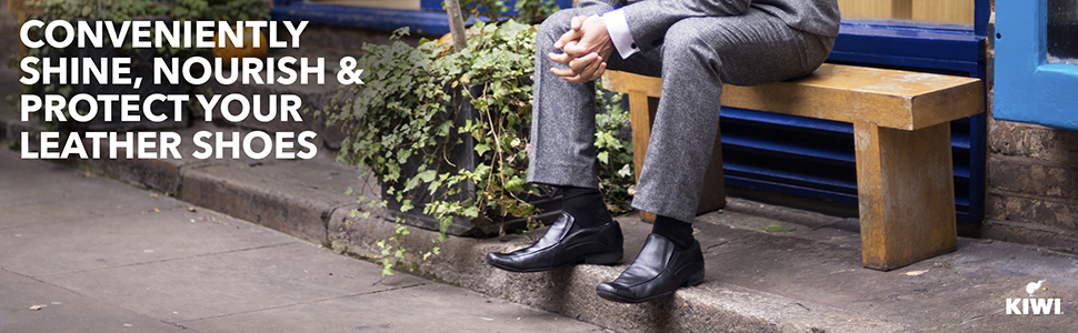 Conveniently Shine, Nourish & Protect Your Leather Shoes