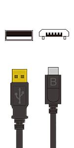 A-microB(USB2.0)