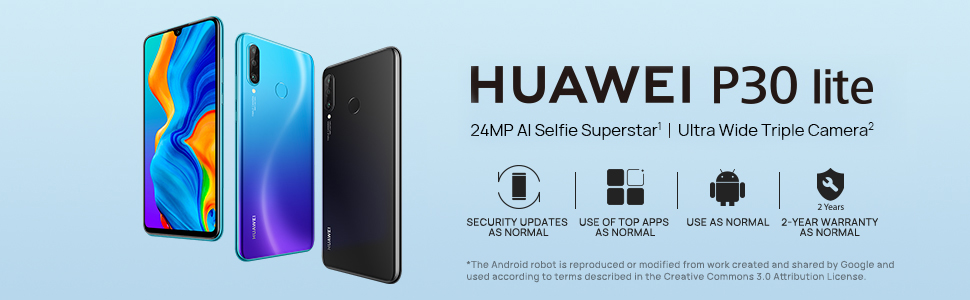 huawei p30 lite android smart phone