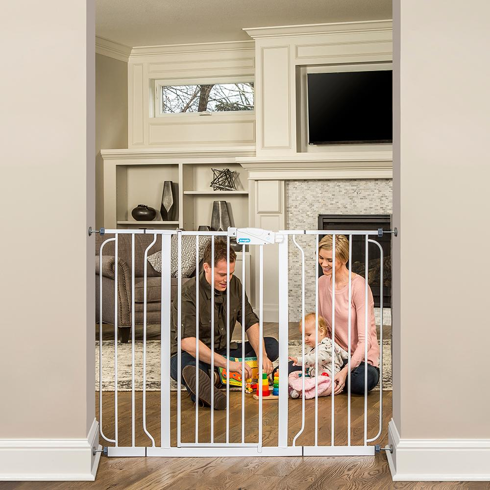Regalo Baby 1154 Extra Tall Widespan Gate White Amazon